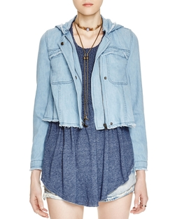 Free People - Raw Edge Denim Jacket