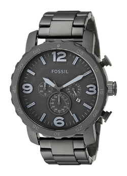 Fossil - Nate Stainless Steel Watch