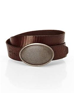 Robert Graham - Brown Leather Belt