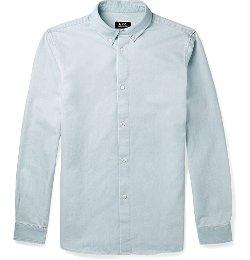 A.P.C. - Button-Down Collar Chambray Shirt