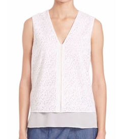 Vince - Sleeveless Lace Top