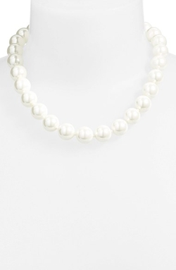 Lauren Ralph Lauren - Faux Pearl Princess Necklace