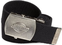 Dickies - Cotton Web Belt With Military Logo Buckle