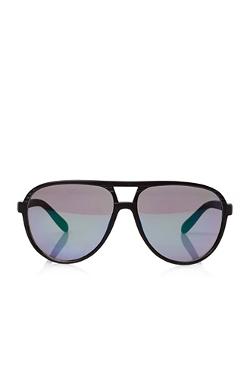 Forever21 - Mirrored Matte Aviator Sunglasses