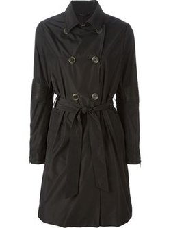 Mackage  - Ribbed Detail Trench Coat