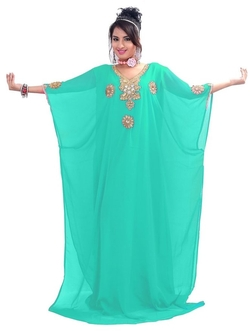 Indian Attire - Caftan Maxi Dress