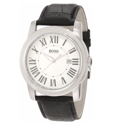 Boss Hugo Boss - Leather Strap Classic Watch