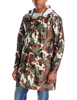 RAINS - Long Camo Jacket