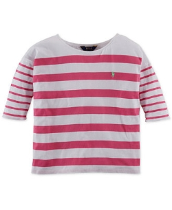 Ralph Lauren - Slouchy Striped Top