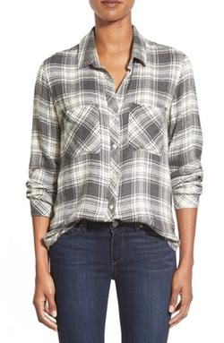 Side Stitch - Twill Flannel Plaid Shirt