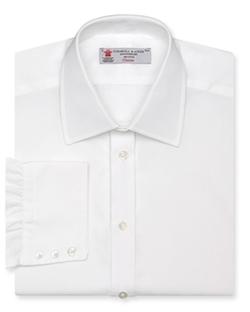 Turnbull & Asser - Solid Poplin Dress Shirt
