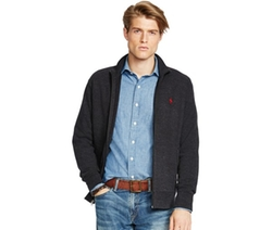 Polo Ralph Lauren  - French-Rib Full-Zip Jacket