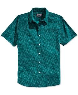 American Rag - Leaf Print Short-Sleeve Shirt