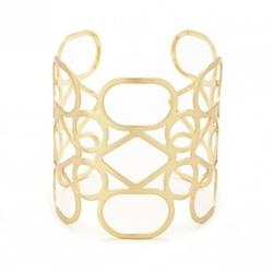 Sole Society  - Delicate Geo Cuff Bracelet