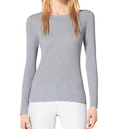 Michael Michael Kors - Ribbed Crewneck Sweater