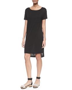 T by Alexander Wang  - Short-Sleeve T-Shirt Dress