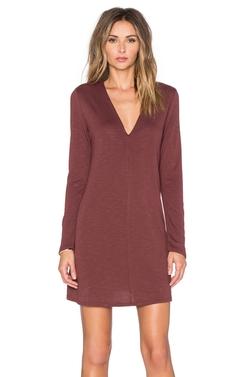Lanston - Long Sleeve Flare Dress