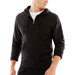 Xersion - Full-Zip Fleece Hoodie Jacket