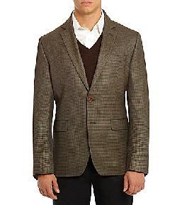 Ralph Lauren  - Mini-Check Wool Sport Coat
