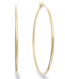 Giani Bernini -  Large Hoop Earrings