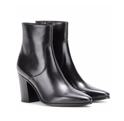 Saint Laurent - French Leather Ankle Boots