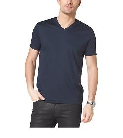 Michael Kors - V-Neck Cotton T-Shirt