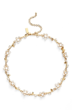 Kate Spade New York  - Pretty Petals Collar Necklace