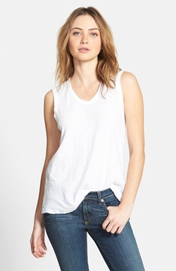 James Perse - Reverse Binding Tank Top