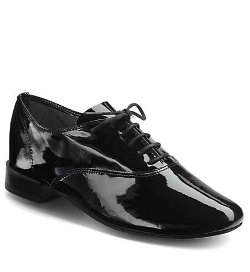 Repetto - Zizi Femme Patent Leather Lace-Up Flat Shoes