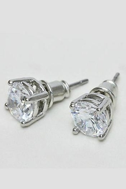 Pretty Little Things - Classic Diamond Earrings