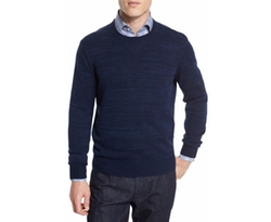 Private Label - Cashmere-Cotton Athletic Crewneck Sweater