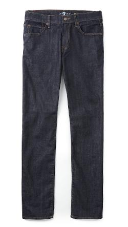 7 For All Mankind  - Carsen Easy Straight Leg Jeans