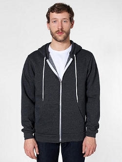 American Apparel - Flex Fleecezip Hoodie Jacket