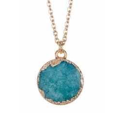 Baublebar - Druzy Pendant Necklace