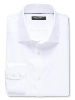 Banana Republic - Slim-Fit Non-Iron Solid Shirt