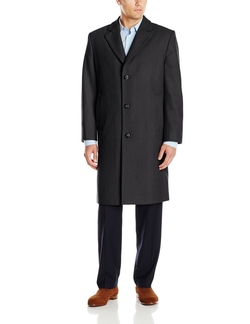 London Fog - Signature Wool-Blend Top Coat