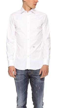 Dsquared2  - Stretch Dress Shirt