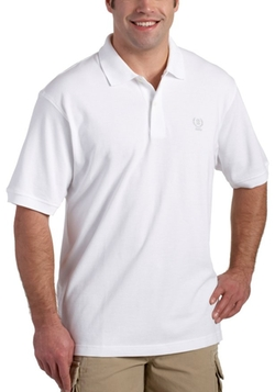 Izod - Short-Sleeve Crested Pique Polo Shirt