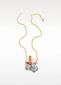 N2  - La Fete Foraine Vintage Scooter Necklace