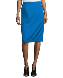 Costume National  - Mid-Rise Pencil Skirt