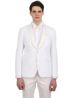 Montezemolo - Cotton Tricot Jersey Evening Jacket