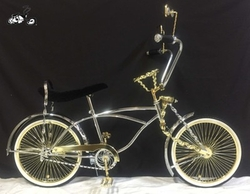 Bicyle Designer - Lovely Lowrider Galaxy