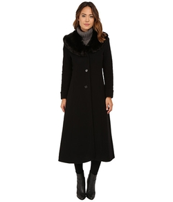 Lauren By Ralph Lauren - Cashmere Blend Faux Fur Coat