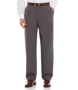 Daniel Cremieux - Signature Micro-Check Pleated Dress Pants