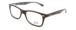 Ray-Ban - Brown/Opal Azure Eyeglasses