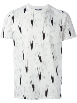 Moschino - Fox Tail Print T-Shirt