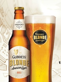 Guinness - Blonde American Lager Beer