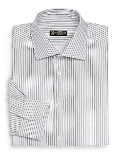 CORNELIANI FINE  - Striped Dress Shirt