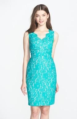 Eliza J  - Sleeveless Lace Dress