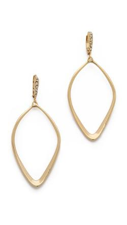 Alexis Bittar - Sculpted Aura Teardrop Earrings